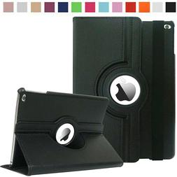 Fit For Apple iPad 6th Gen 2018 9.7 Case 360 Rotating Smart