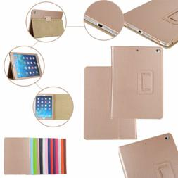 Flip Synthetic Leather Holder Wallet Case Cover For iPad Pro