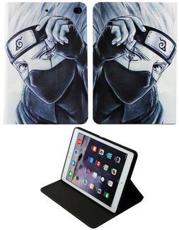 Fo iPad Pro 9.7 / iPad 9.7 / iPad Air 1-2 Naruto Anime Kakas