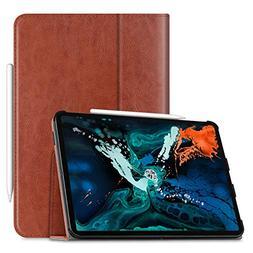 "Fintie Folio Case for iPad Pro 12.9"" 3rd Gen 2018 - Vegan Le"