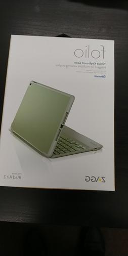 ZAGG Folio Case, Hinged Keyboard for iPad Air 2 - Sage