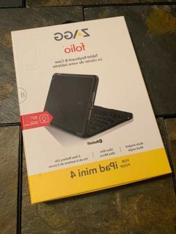 Zagg Folio Wireless Keyboard & Case for iPad Mini 4 - Blueto