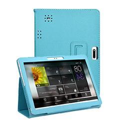 <font><b>Cases</b></font> tablet Universal Blue Folio Leathe
