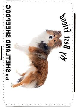 Rikki Knight My Best Friend is a Shetland Sheepdog Design Bl