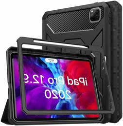 MoKo Full-Body Shockproof Case Smart Trifold Stand Cover  fo