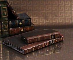 Genuine Vintage Leather Book Case For iPad