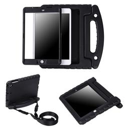 Heavy Duty iPad Case Built In Screen Protector Shoulder Stra