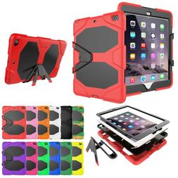 Heavy Duty Shockproof Full Case with Stand For New iPad 9.7