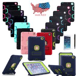 Heavy Duty Shockproof Hard Case Cover For Apple iPad 2/3/4 A