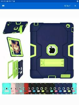 Hybrid Military Stand Hard Case For iPad 9.7 6th Generation
