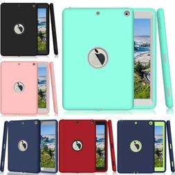 Hybrid Rubber Shockproof Hard Case Cover for Apple iPad 2 3