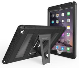 iPad Air 2 Case - MoKo  Durable Hybrid Silicone + Hard Polyc