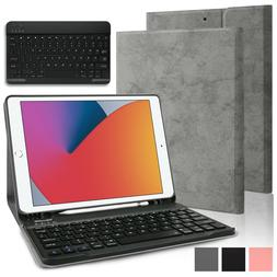 """For iPad 10.2"""" 2020 8th/7th Generation Smart Case Leather St"""