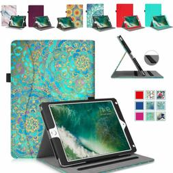 For iPad Pro 11 & 12.9 & 10.2'' & 9.7 Multi-Angle Slim Case