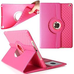 iPad Pro 10.5 Case,Dream Wings 360 Degrees Rotating Slim Sta