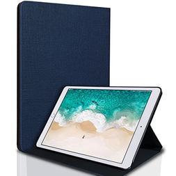 iPad Pro 10.5 Case, Milprox Jazz Series slim folio leather c