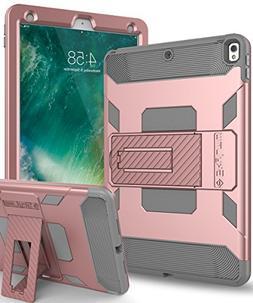 iPad Pro 10.5 Case,SKYLMW iPad Pro 10.5 Inch 2017 Case  Thre