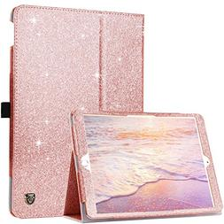 BENTOBEN iPad Pro 10.5 Case with Pencil Holder Glitter Spark