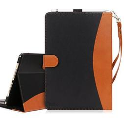 FYY iPad Pro 12.9 Case 2017/2015 Leather Stand Folio Case Co