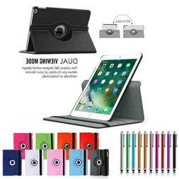 For iPad 2 3 4 Air Mini 9.7 Pro Case Rotating Magnetic Leath