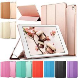 For iPad 2 3 4/Air/Mini/Pro/9.7 2018 Magnetic Slim Flip Leat