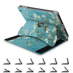 Fintie iPad 2/3/4 Case -  360 Degree Rotating Smart Stand Co