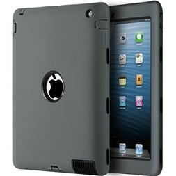 iPad 2/3 / 4 Case,BENTOBEN Heavy Duty Rugged Slim Shockproof