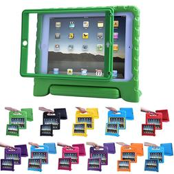 iPad 2 3 4 Case for Kids Shockproof Bumper Cover with Built