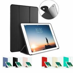 "iPad Case 2 3 4 Generation 9.7"" Slim Magnetic Silicone Smart"