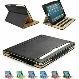 iPad 2 3 4 Generation Case Soft Leather Smart Cover Sleep Wa