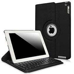 Fintie iPad 2/3/4 Keyboard Case - 360 Degree Rotating Stand