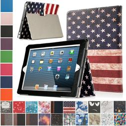 For iPad 2 3 4 Magnetic Folding Folio Case Stand Smart Cover