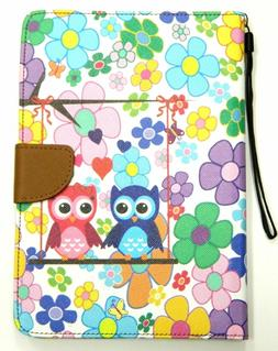 For iPad 2 3 4 Mini Pattern Leather Magnetic Wallet Smart St