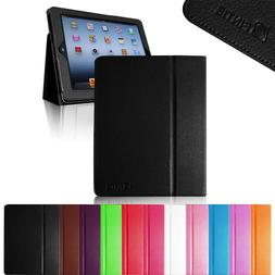 For iPad 2 A1395 or A1396 Retina Display Folio Case Stand Co
