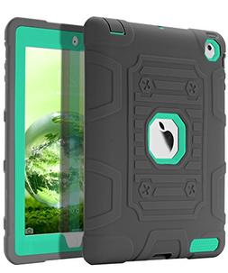 TOPSKY  iPad 2 Case,iPad 3 Case,iPad 4 Case,Shock-Absorption