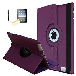 iPad 9.7 2018/2017 Case, JYtrend  Rotating Stand Smart Case