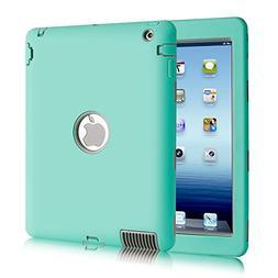 iPad 2 Case,iPad 3 Case,iPad 4 Case,BENTOBEN Heavy Duty Rugg