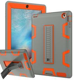 iPad 2 Case,iPad 3 Case,iPad 4 Case, TOPSKY ,Shockproof/High