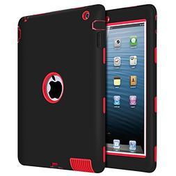 iPad 2 Case, iPad 3 Case, iPad 4 Case, BENTOBEN Heavy Duty R