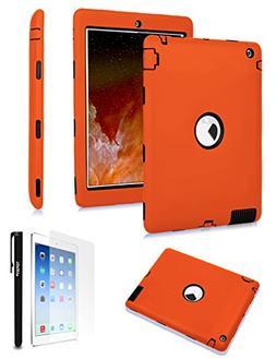 TOPSKY  iPad 2 Case,iPad 3 Case,iPad 4 Case,Shock-Absorption