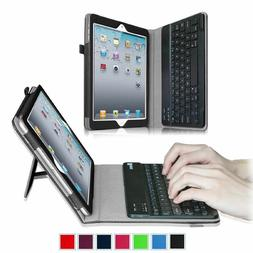 For iPad 2 / iPad 3 / iPad 4 Folio Case Cover Stand with Blu