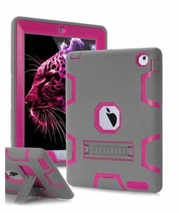 TOPSKY iPad 2 ,iPad 3, iPad 4, iPad 2/3/4 Kid Proof Case, He