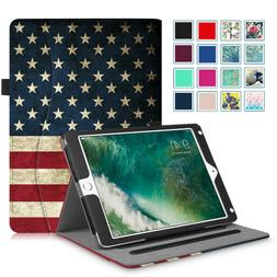 For iPad 2 iPad 3 iPad 4 & iPad 5th Gen 9.7 2017 Folio Leath