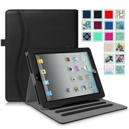 For iPad 2 iPad 3 iPad 4th Gen Case Multi-Angles Smart Stand