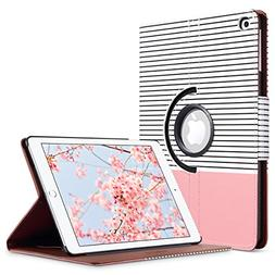 ULAK iPad 2017/2018 iPad 9.7 inch Case, Slim Lightweight 360