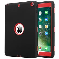 iPad 2017/2018 iPad 9.7 inch Case, BENTOBEN Heavy Duty Shock