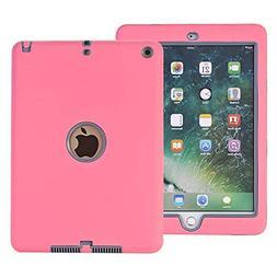 AOKER iPad 9.7 2018/2017 Case, Three Layer Lightweight Heavy
