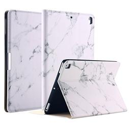 New iPad 2018/2017 9.7 Inch Case, LONTECT Marble Design PU L
