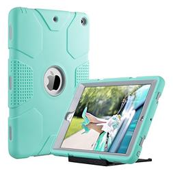ULAK iPad 2017 9.7 inch Case, Heavy Duty Shockproof Kidproof