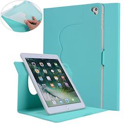 New iPad 2017 Case - AiSMei 9.7-Inch Slim Lightweight Smart